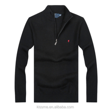 cheap polo neck man wool sweater