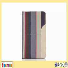 2016 fashion match color leather flip tablet case for ipad air 2