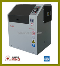 500g capacity vibration laboratory puverizer, bowl type small pulverizer for rock and ore grinding