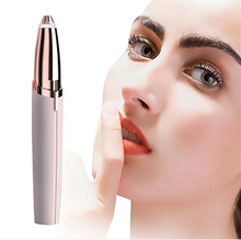 Dropshipping Women waterproof shave machine sticker set makeup comb case pencil pen electric eyebrow remover