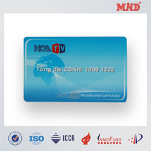MDC0926 13.56 Mhz NDEF Formatted NTAG203/213/216 pvc contactless smart card
