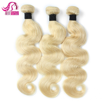 Factory Price 100% Pure Virgin Human Hair 613 Color straight Unprocessed Sassy Mitchell Hair