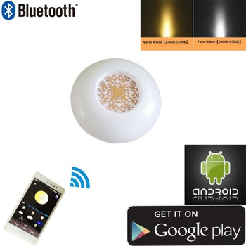 Promotion Smart bluetooth/WiFi led ceiling light & CCT dimmable