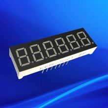 Common anode cathode red 0.36 inch led 6 digit 7 segment display