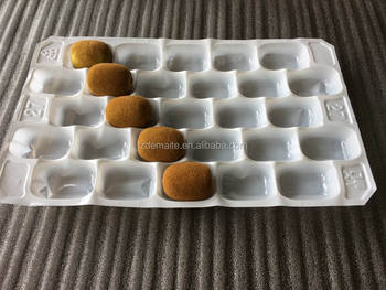 Zespri New Zealand Popular Slaes Vacuum Formed PP Plastic Tray For Kiwi Fruit Packaging