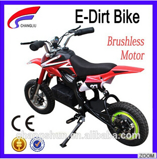 36V 800W pink electric dirt bike with new brand for kids