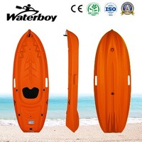Plastic Speed Boat for One Person Sea Water Kayak