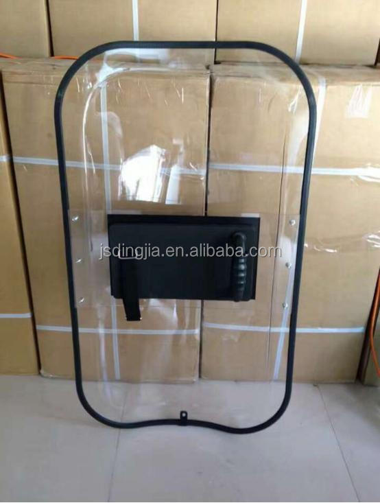 newest protect safety PC material big protection area shield