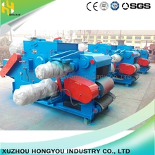 High quality tree chipping machine wood drum chipper factory price