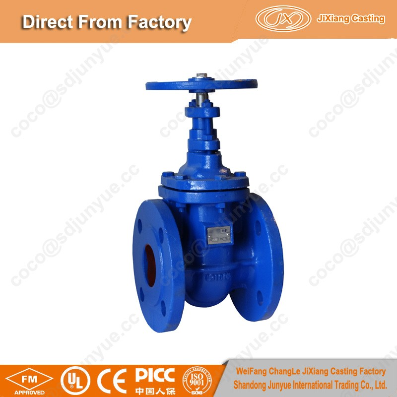 China Manufacturer DIN50-DIN600 Water Pipe Gate Valve with ISO Certificate