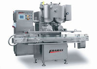 Filling machine for dense products