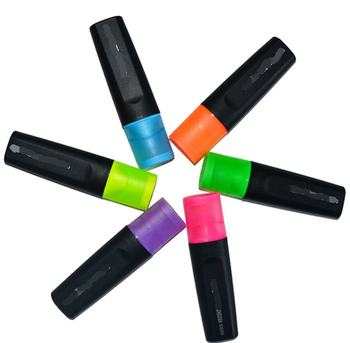 set of 6 jumbo chisel tip original fluorescent marker pens