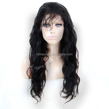 High quality cheap women remy human hair lace front wigs for african american