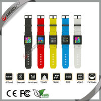 2014 Cheap bluetooth wifi touch screen android smart watch made in shenzhen china