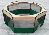 Fabric folding pet playpen for cats and dogs puppy crate portable pet play pen tent