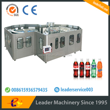 Leader full automatic carbonated drinks sealing machine
