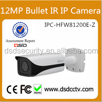 DH-IPC-HFW81200E-Z 4K 12MP Outdoor IR Bullet Dahua CCTV With Smart Detection