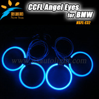 2014 Newst products for BMW E34 CCFL Angel eyes halo ring kit, 8000K ultra white angel eyes lighighting,factory wholesale