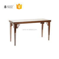 Fashionable clothes shop counter table design for T-shirt& shoesshop display