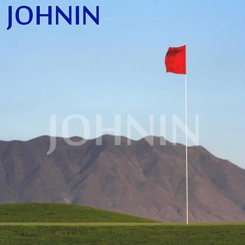 Promotional customized polyester mini golf flags