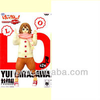 JAPAN ANIMATE BANPRESTO K-ON DX PVC FIGURE MOVIE TRIP TO LONDON SPECIAL YUI HIRASAWA