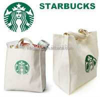 2015 New Starbucks Cotton Shopping Tote Bag