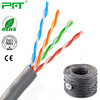 PFT Factory lowest price blue/grey/yellow color Copper network cable 2/4pairs 24awg UTP Cat5e cable 305m wholesale