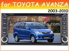 car dvd player for TOYOTA VITZ / AVANZA 2003-2010 car radio car audio with gps navigation