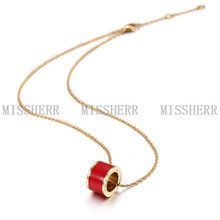 Wholesale fashion model necklace with chian MKN002STGCRD