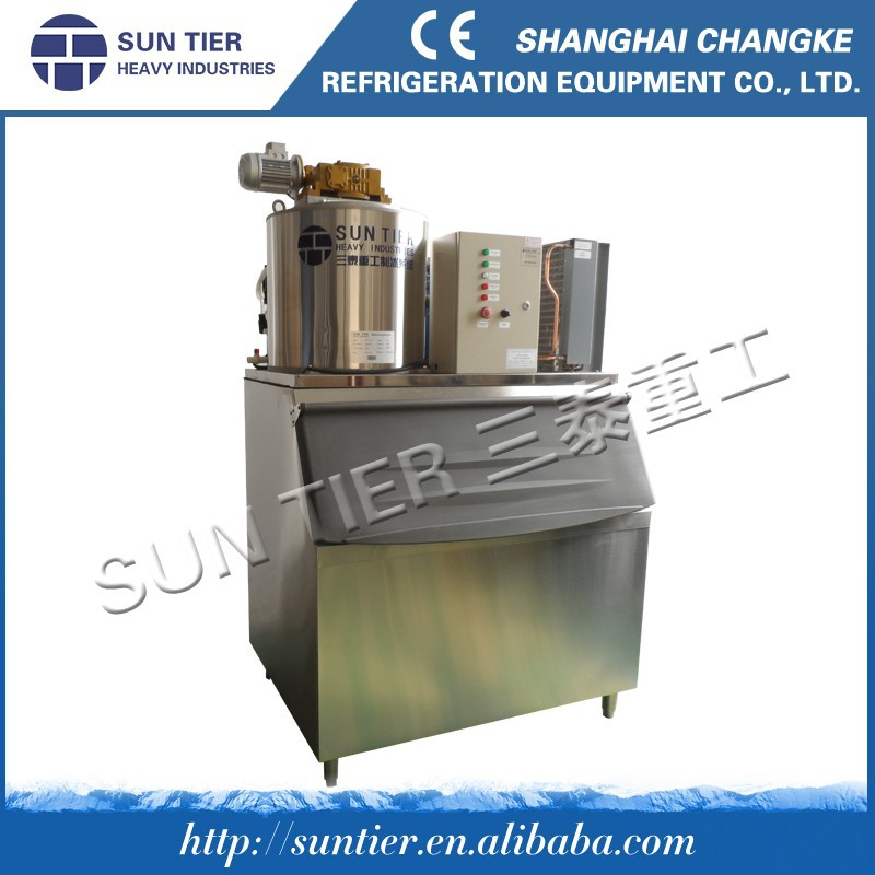 Best Selling Flake Ice Maker Machine In China 1.5tons/day For Ice Fresh