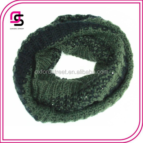 High Quality Fashion Neck Scarf Knitting Pattern