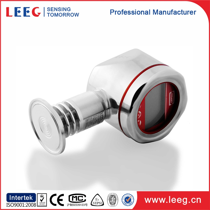 vacuum pressure transmitter for clean rooms