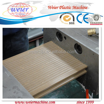 SJSZ-65/132 WPC(wood plastic composite)profile extrusion machinery