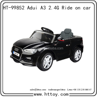 New black cool Audi A3 Ride on car 12v Batteries can connect MP3 license car
