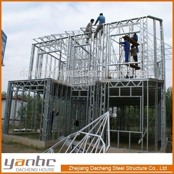 LOW PRICE Prefab Steel Frame House For Sale