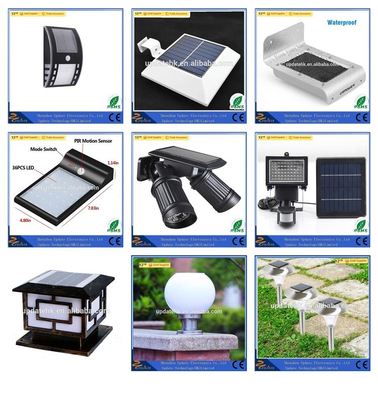 Home Outdoor Wireless 20w Integrated All in one Stand Alone High Lumen Led Street Solar Motion Sensor Dust to Down Light