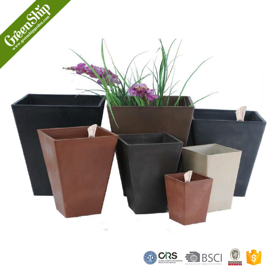 Decorative Garden Plastic Plant Pots Wholesale From