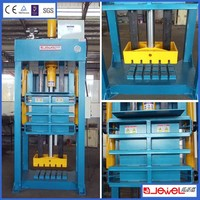 CE certificate used clothes compactor baler machine