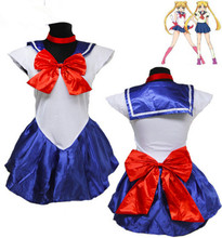 Factory hot sale Sailor Moon cosplay costume for Halloween anime costume suit