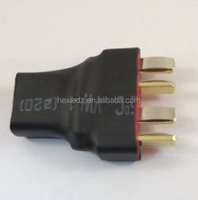 Hot sale RC adapter deans female to 2 (two) deans male wireless adapter