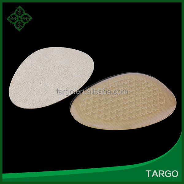 Foot Care high heel gel foot pads with fabric foot cushion insole Gel