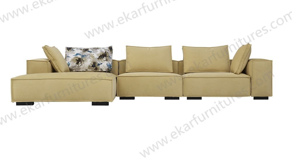 Home Entertainment Center Living Room Single Seater Wood Sofa