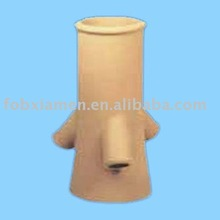 wholesale flue pipe custom terracotta kitchen funnel
