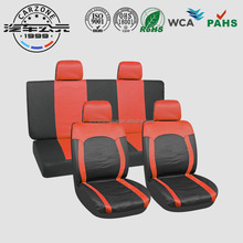 Wholesale Customized car seat cover ldpe set red / pink /black