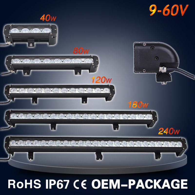 Wholesale 9-60V 180W 30in 30 inch off road led bar with free logo 5'' 8'' 11'' 17'' 21'' 30'' 36'' 40''