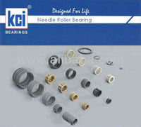 KCI Needle Roller Bearings, Cages & Rollers