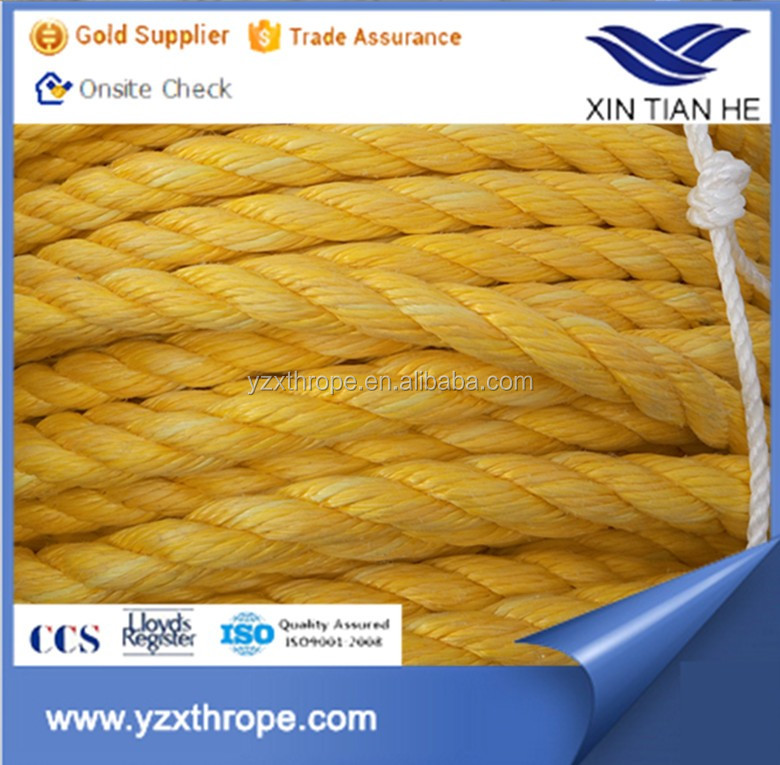Hot sale Polypropylene PP twisted Boats plastic Rope
