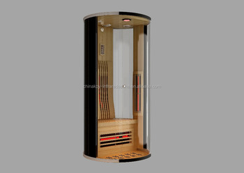 05-K1 Foshan portable infrared sauna room suit in Red cedar wood
