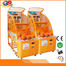 coin acceptor amusement center children street System arcade games basketball shooting gun machine