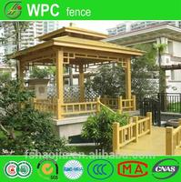 braided fence wire wood plastic composite wall panel